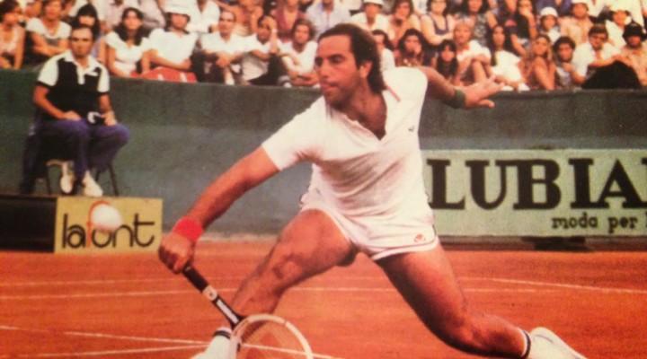 """Il belsignore del mese: PAOLO BERTOLUCCI,non solo il """"braccio d'oro"""" del tennis italiano."""