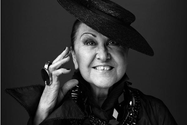 Anna Riva : la bellasignora del giornalismo di moda italiano.