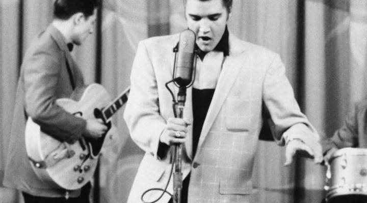 Elvis, the king of rock'n'roll, e la Bellasignora:il dinamico duo!