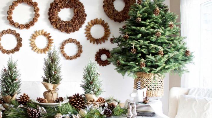 Decorazioni natalizie no problem, parola di Bellasignora.
