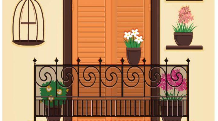 Piccolo balcone, grandi idee: ve lo spiega la Bellasignora