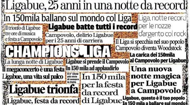 25 anni di Liga : Campovolo numero 3.