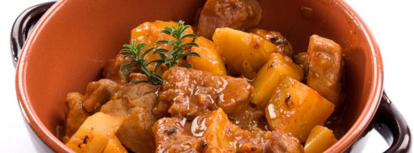 Oggi cucino io !!! Spezzatino con patate.