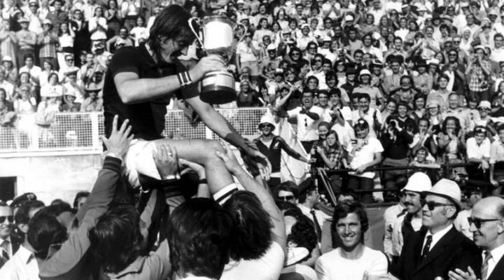 Adriano Panatta: ricordi sparsi di una vita di tennis.
