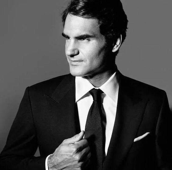 Roger Federer: quando lo stile e l'eleganza coincidono dentro e fuori il campo da tennis.